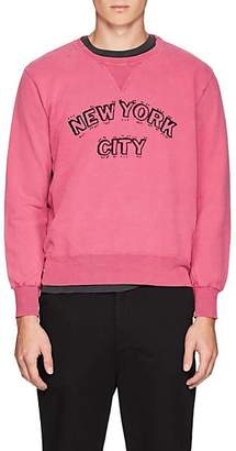 "Remi Relief MEN'S ""NEW YORK CITY"" COTTON TERRY SWEATSHIRT"