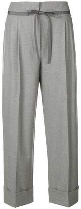 Giorgio Armani cropped tailored trousers