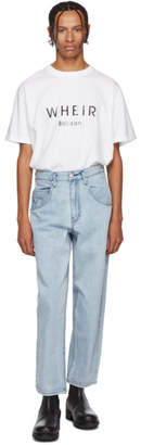 Bobson Wheir Blue Baggy Jeans
