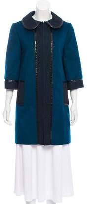 Andrew Gn Wool Short Coat