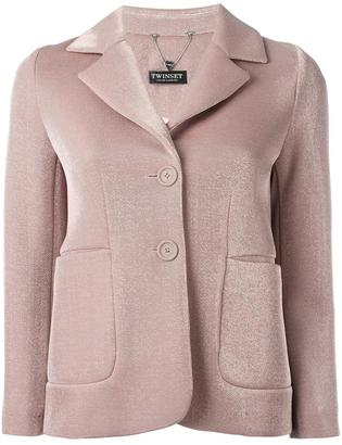 Twin-Set two button jacket $267.81 thestylecure.com