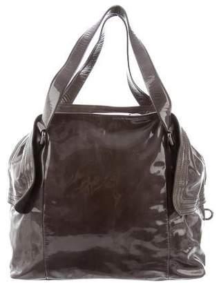 988f64b094 Salvatore Ferragamo Patent Leather Shoulder Bag