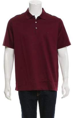 Salvatore Ferragamo Short Sleeve Polo Shirt