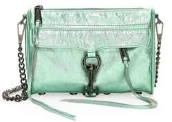 Rebecca Minkoff Mini Mac Metallic Leather Shoulder Bag