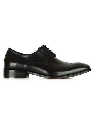 Daniel Footwear Daniel Black Sturminster Leather Brogue