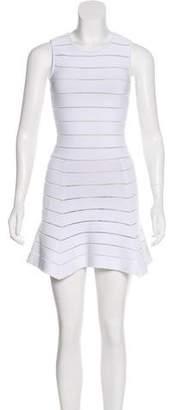 Ronny Kobo Striped A-Line Dress