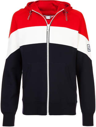 Moncler striped zipped jacket