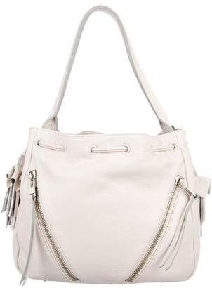 Linea Pelle Leather Drawstring Bag