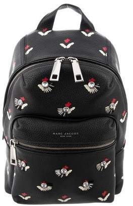 Marc Jacobs Embellished Leather Backpack