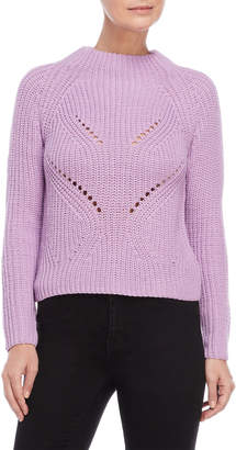 Almost Famous Chunky Knit Mock Neck Sweater