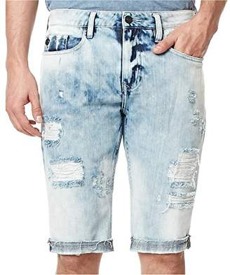 Buffalo David Bitton Men's Parker Slim Fit Fashion Denim Short Wash