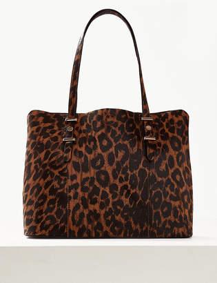 Marks and Spencer Animal Print Tote Bag