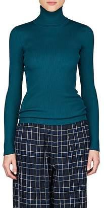 Balenciaga Women's Rib-Knit Turtleneck Top
