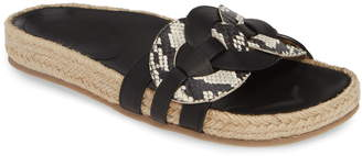 Seychelles Narrative Slide Sandal