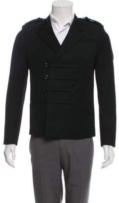 Saint Laurent Wool Military Jacket white Wool Military Jacket