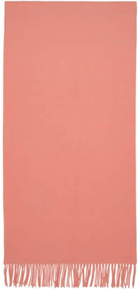 Acne Studios Pink Canada Narrow New Scarf