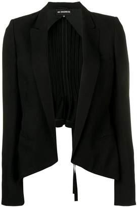 Ann Demeulemeester pleated blazer