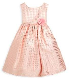 Little Girl's Polka Dots Dress