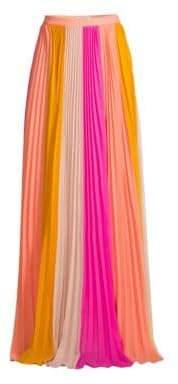 AMUR AMUR Women's Abby Plissé Pleated Maxi Skirt - Size 0