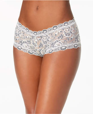Hanky Panky Cross-Dyed Lace Boyshort 591204