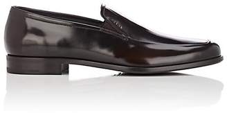 Prada Men's Spazzolato Leather Venetian Loafers