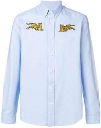 Kenzo Jumping Tiger button-down shirt
