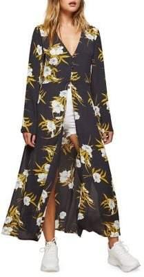 Miss Selfridge Floral Tunic Blouse Tunic