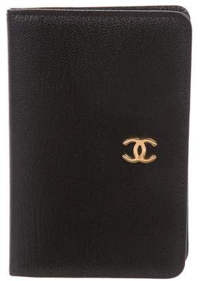 Chanel CC Address Book w/ Tags