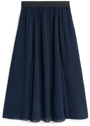 Arket Viscose Crepe Skirt