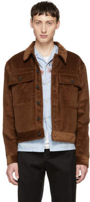 MSGM Brown Corduroy Jacket