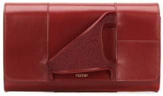 Perrin Paris 'Asymmetric Glove' clutch