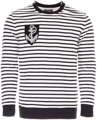 Balmain Breton Striped Pull