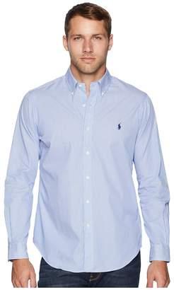 Polo Ralph Lauren Poplin Sport Shirt Men's Long Sleeve Button Up