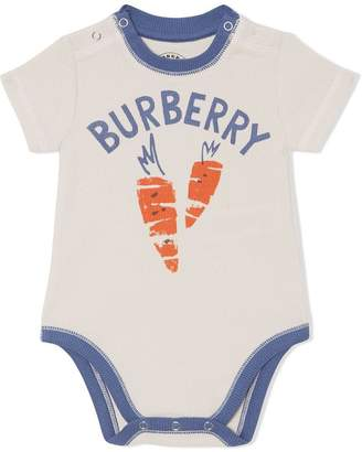 Burberry Fruit and Flower Print Three-piece Baby Gift Set