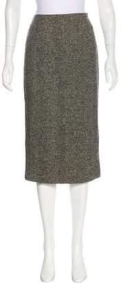 Ralph Lauren Purple Label Knee-Length Cashmere Skirt