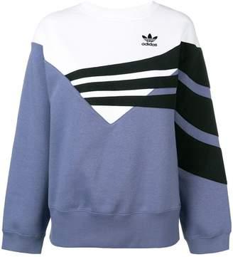 adidas panel logo sweatshirt