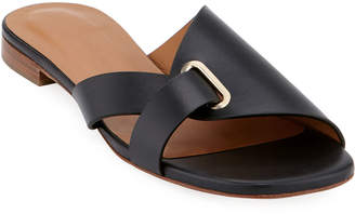 Robert Clergerie Aston Flat Slide Sandals