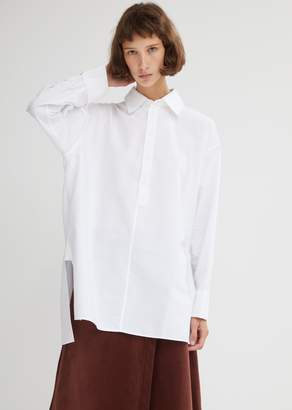 Acne Studios Oversized Cotton Poplin Shirt