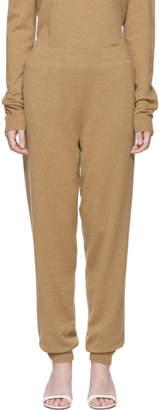 Jil Sander Beige Cashmere Lounge Pants