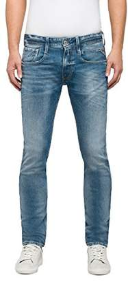 Replay Men's's Anbass Slim Jeans, (Blue Denim 10), W/L32 (Size: )