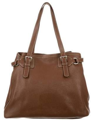 Prada Vitello Daino Tote Brown Vitello Daino Tote