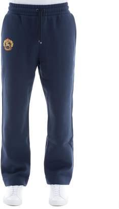 Burberry Blue Cotton Pants