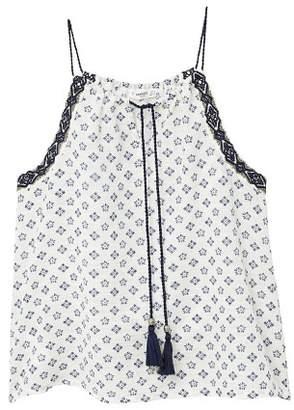 MANGO Halter cotton top