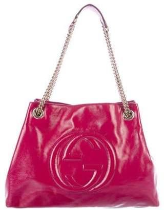 Gucci Medium Soho Chain Shoulder Bag Pink Medium Soho Chain Shoulder Bag