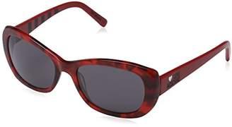 Love Moschino Women's ML505S Rectangular Sunglasses