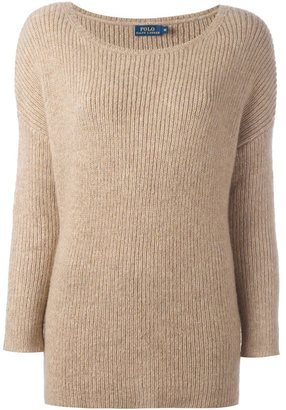 Polo Ralph Lauren ribbed jumper $302.18 thestylecure.com