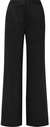 ADAM by Adam Lippes Grain De Poudre Wide-leg Pants - Black