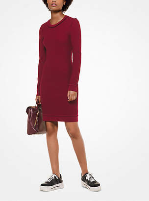 Michael Kors Textured Merino Wool Dress