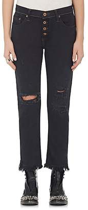 NSF Women's Distressed Slim Jeans