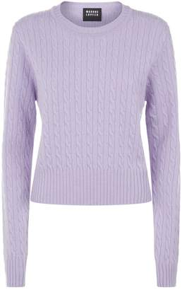 Markus Lupfer Cable Knit Sweater